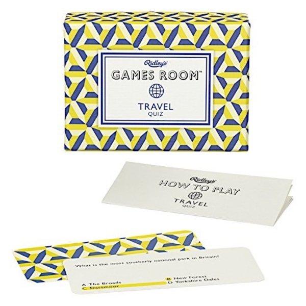 Ridley's Travel Quiz
