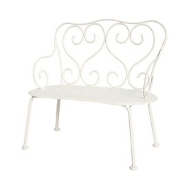 Maileg Romantic Bench - Off White