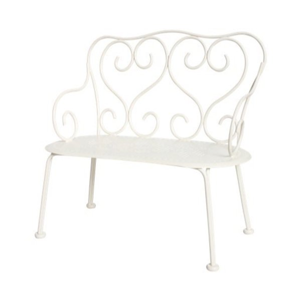 Maileg Romantic Bench - Off White