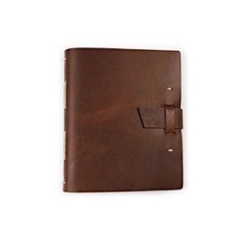 Rustico Good Book With Buckle