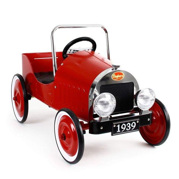 Baghera Classic Pedal Car - Red