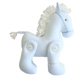 Alimrose Jointed Pony - Blue Stripe