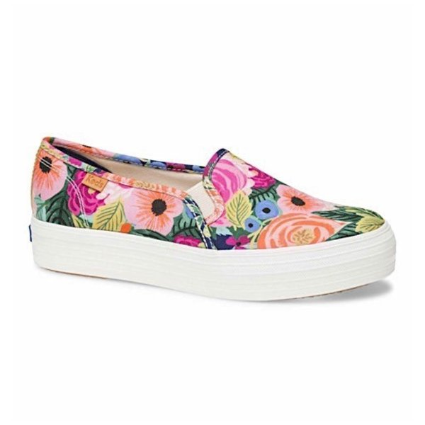 KEDS Adult + Rifle Paper Co. Triple Decker / Juliet Floral