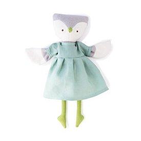 Hazel Village Lucy Owl - Egg Blue Linen