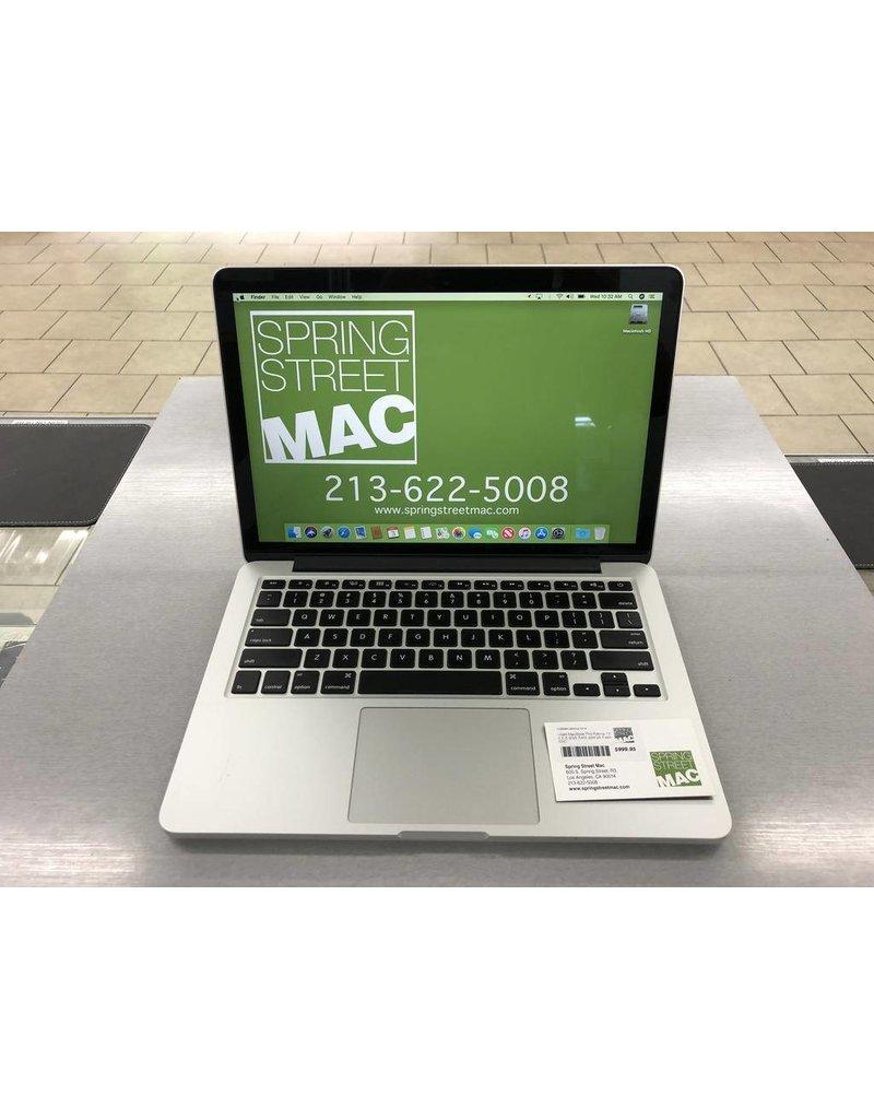 Apple Retail Used MacBook Pro Retina 13 26 I5 8GB RAM 256GB Flash SSD