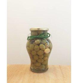 Delizia Delizia Olives (Whole Green Garlic & Rosemary)