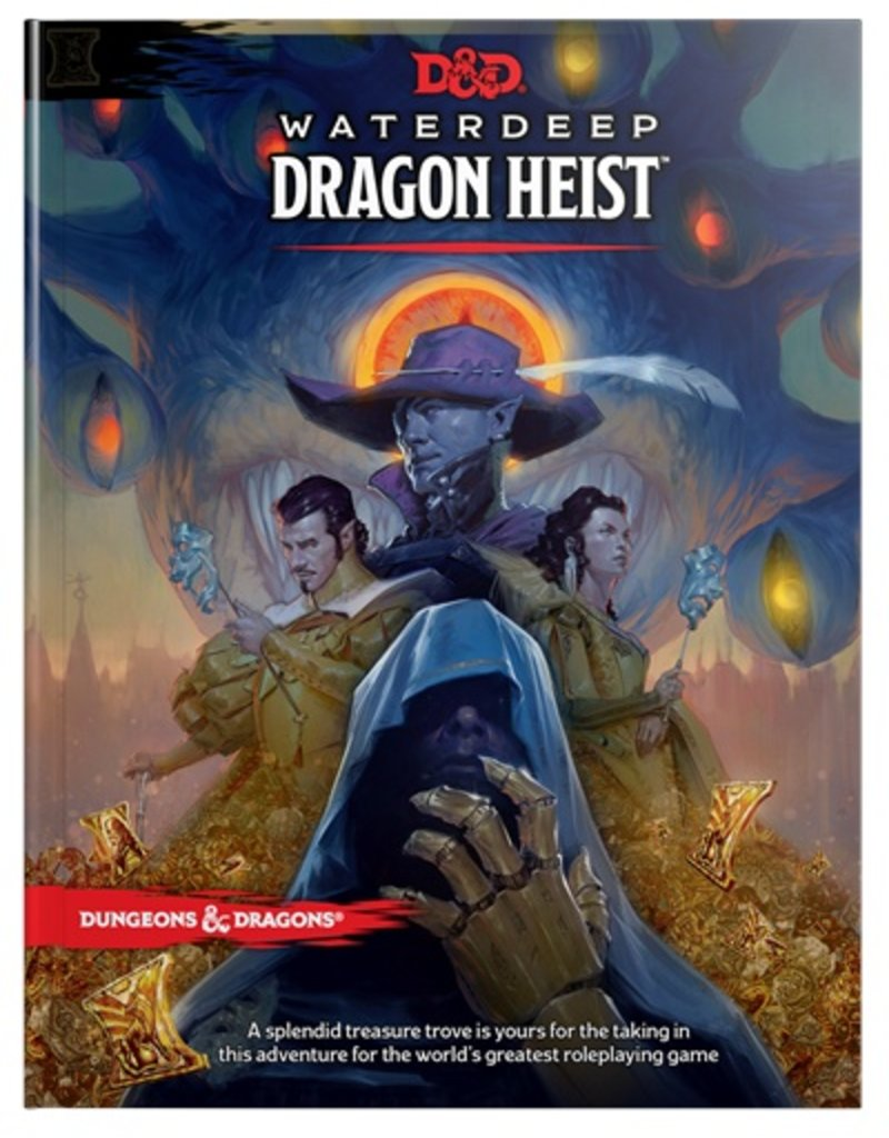 Waterdeep Dragon Heist Cover Art