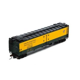 Athearn athearn 97356 HO RTR 50' Ice Bunker Reefer, C&NW #52001