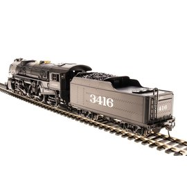 BROADWAY LIMITED IMPORTS 2921 HO Heavy Pacific 4-6-2, ATSF #3416, Paragon2 Sound/DC/DCC