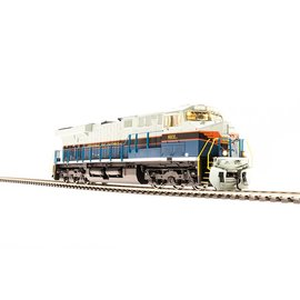 BROADWAY LIMITED IMPORTS 2814 HO ES44AC w/DCC & Paragon 3,NS/CofG Heritage #8101