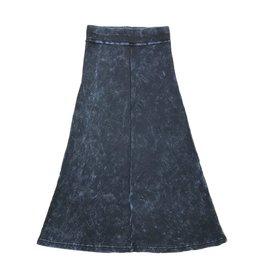 Five Stars Five Stars Long Tie Dye Ribbed Skirt