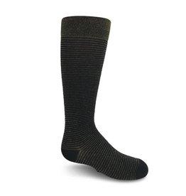 Zubii Zubii Horizontal Ribbed Knee Socks