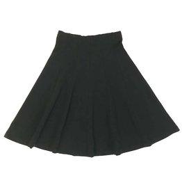 Five Stars Five Stars Flared Stitched Skirt