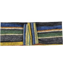 becca + bella becca and bella Topaz Knit Double Knot Turban (Blue)