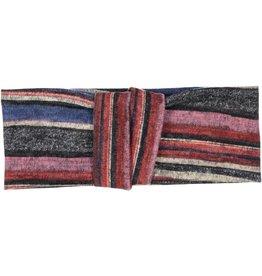 becca + bella becca and bella Topaz Knit Double Knot Turban (Berry)