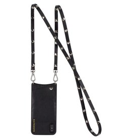 Bandolier Bandolier Sarah Black & Silver Crossbody for iPhone