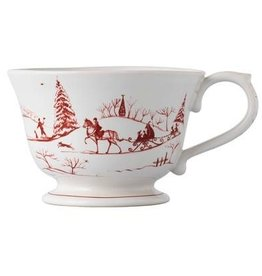 "Juliska Country Estate Comfort Cup - Ruby - 5""W x 3.75""H - 22 Oz."