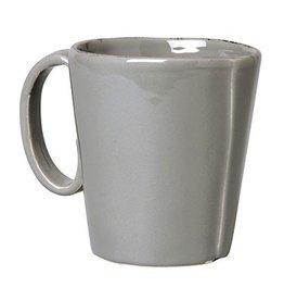 Vietri Lastra Mug - Gray
