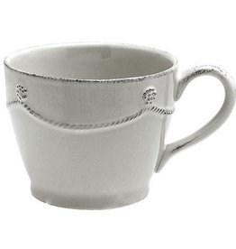 "Juliska Berry and Thread Tea/Coffee Cup - Whitewash - 4""W x 3""H - 10 Oz."