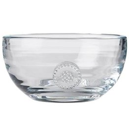 "Juliska Berry and Thread Small Bowl - Glass - 5""W x 2.5""H - 15oz."