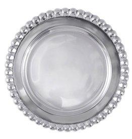 Mariposa Beaded Wine Plate