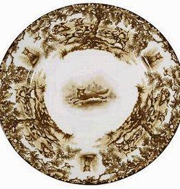 CE Corey Aiken Fox Dinner Plate