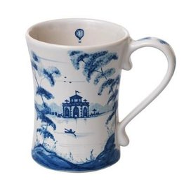 "Juliska Country Estate Mug - Delft Blue - 3.5""W x 4.5""H - 12 Oz."