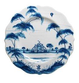"Juliska Country Estate Delft Blue Dessert 9""W"