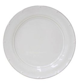 Casafina Meridian Plain Dinner Plate - White