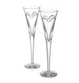 Waterford Waterford Wishes Toasting Flutes - Love/Romance