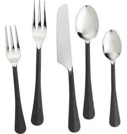 Simon Pearce Woodbury 5-Piece Flatware Setting - Black