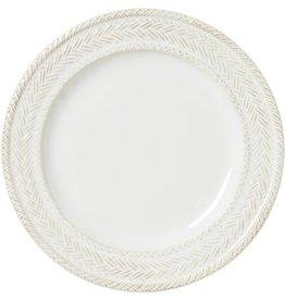 Juliska Le Panier Dessert/Salad Plate - Whitewash