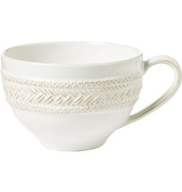 Juliska Le Panier Tea/Coffee Cup - Whitewash