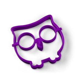 Funny Side Up Owl Egg Mold - Purple