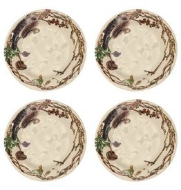 Juliska Forest Walk Party Plates - Set of 4