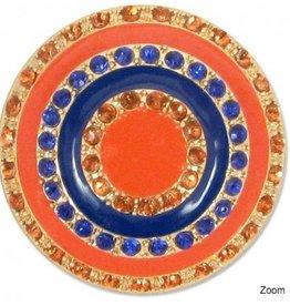 Lindsay Phillips Orange and Blue Snap