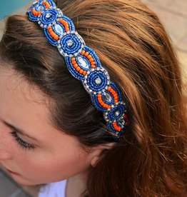 Gator Girl Beaded Headband