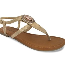 Lindsay Phillips Meredith Sandal - Gold - Size 6