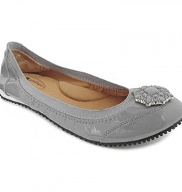Lindsay Phillips Karina Ballet Flat - Gray - Size 7