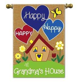 Grandma's House Flag - Garden