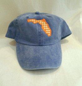 Custom Agapanthus Florida Denim Hat