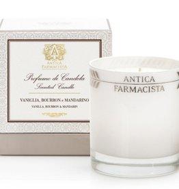 Antica Farmacista Vanilla Bourbon & Mandarin Platinum Round Candle