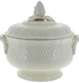 Gien Pont Aux Choux Soup Tureen - White