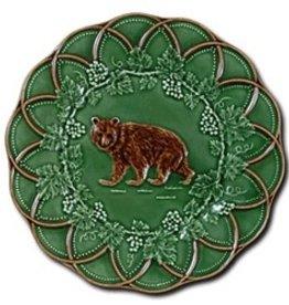 """CE Corey Bordallo Scalloped Bear Plate - 9"""""""