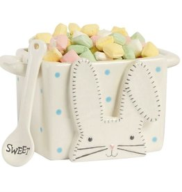 Blue Bunny Candy Caddy Set