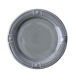 Juliska Berry & Thread French Panel  Dessert/Salad Plate - Stone Grey