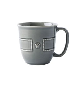 Juliska Berry & Thread French Panel Coffee/Tea Cup - Stone Grey