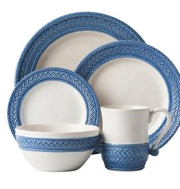 Juliska Le Panier White/Delft Blue - 5 Pc. Place Setting