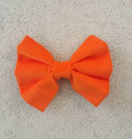 Hot Dog Bowtie - Orange - Medium