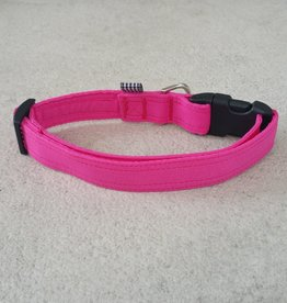 Hot Dog Collar - Hot Pink - Large